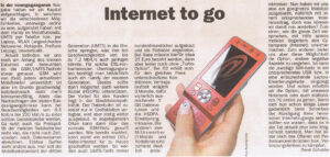 Internet to go