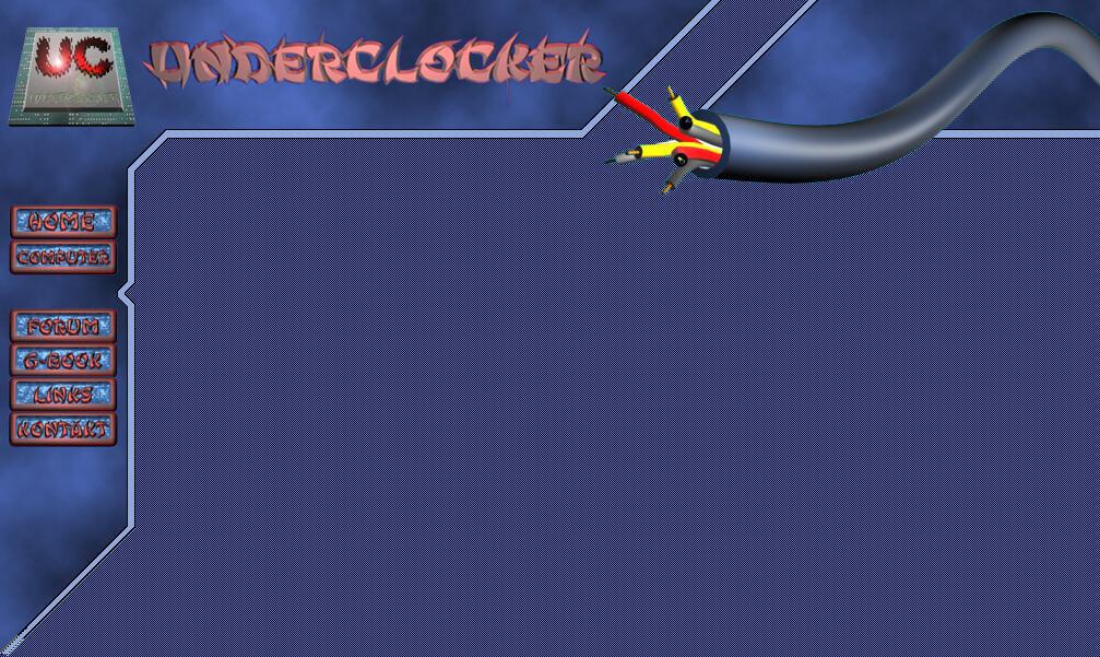 Meine erste Webseite: Bild von Underclocker