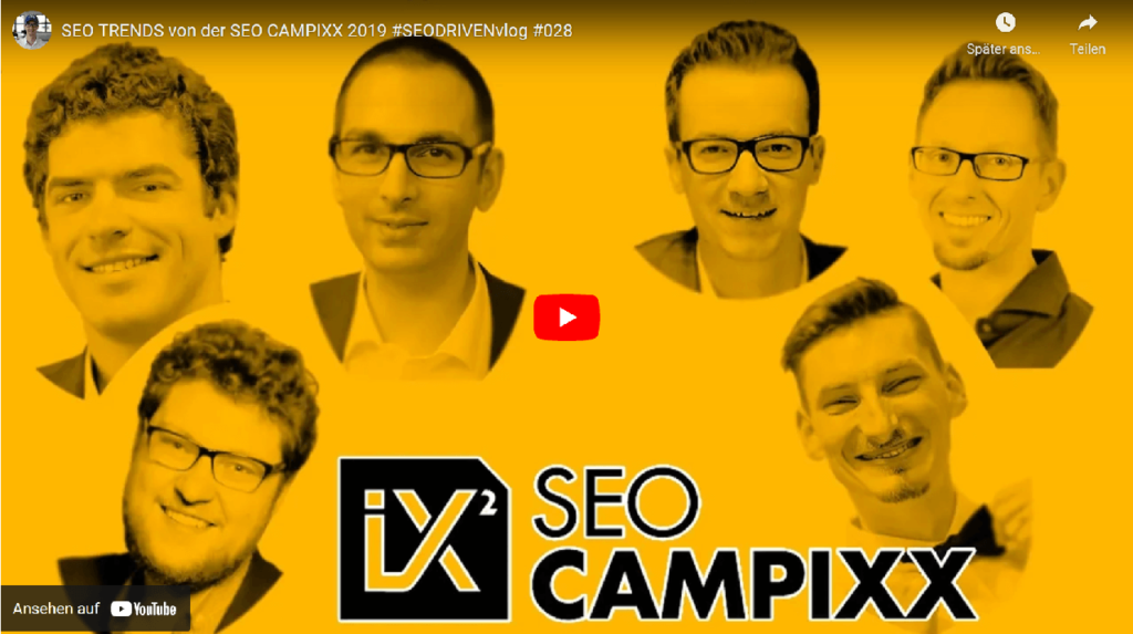 Seodriven Interviews auf der Seocampixx 2019